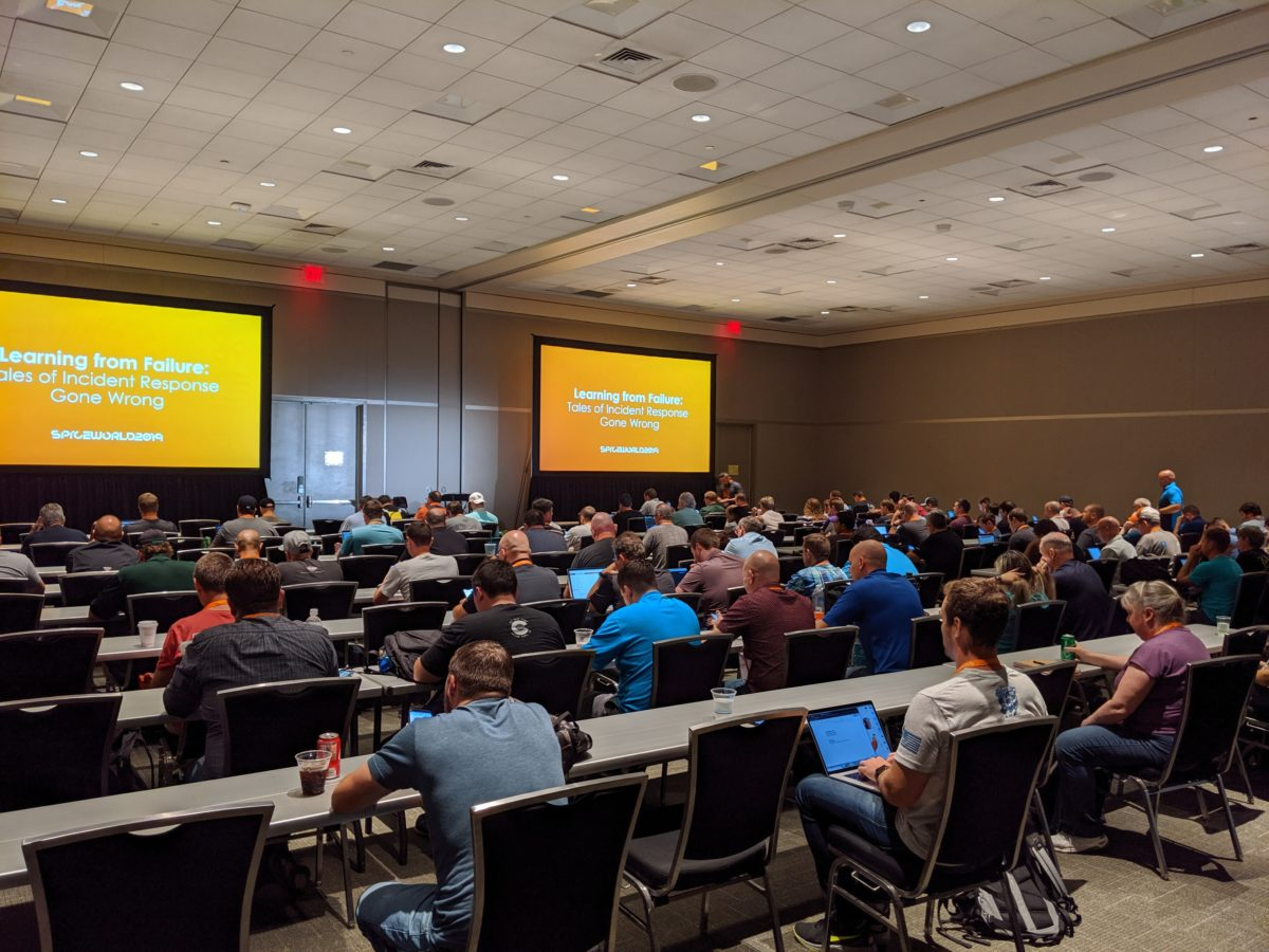 SpiceWorld Austin 2019: Learning from Failure