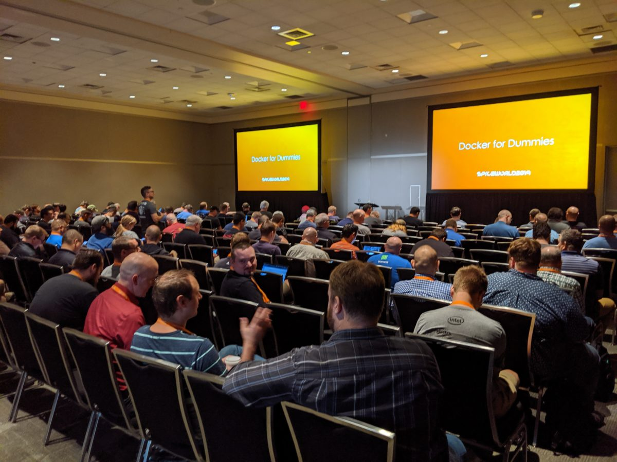 SpiceWorld Austin 2019: Docker for Dummies